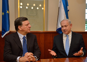 Netanyah meets with EU Commission President Barroso